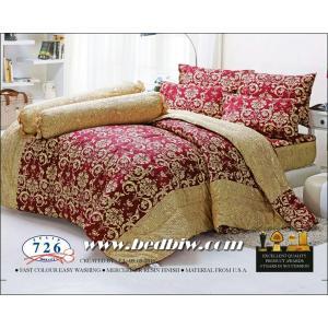 ชุดเครื่องนอน ผ้าปูที่นอน ทิวลิป-tulip ลายไทย รุ่น 726