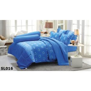 ชุดเครื่องนอน ผ้าปูที่นอน ทิวลิป-พิมพ์ลาย รหัส SL016