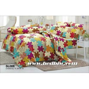 ชุดเครื่องนอน ผ้าปูที่นอน ทิวลิป รหัส SL006