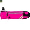 กระเป๋าคาดเอววิ่ง กันน้ำ สีชมพู ใส่ขวดน้ำ แถมขวดน้ำ 300cc 1 ขวด