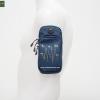 กระเป๋ารัดแขนวิ่ง สีกรม Armband 2ซิป ใส่โทรศัพท์ได้ทุกรุ่น