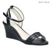 รองเท้าแฟชั่นส้นเตารีด WC71-BLK [สีดำ]