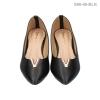รองเท้าคัทชูส้นแบน S66-48-BLK [สีดำ]