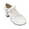 Pre-Order รองเท้าส้นสูงมีสายรัดกระดุมรูปหัวใจ