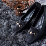 รองเท้าส้นแบน F59196-BLK [สีดำ]