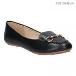 รองเท้าส้นแบน F59190-BLK [สีดำ]