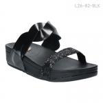 รองเท้าส้นแบน L26-82-BLK [สีดำ]