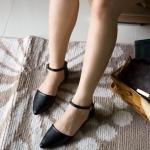 รองเท้าส้นแบน F-59030-BLK [สีดำ]