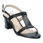 รองเท้าส้นเตี้ย SB78001-BLK [สีดำ]