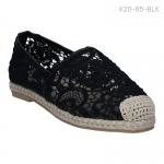 รองเท้าส้นแบน K20-85-BLK [สีดำ]