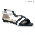 รองเท้าส้นแบน SB52105-BLK [สีดำ]