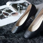 รองเท้าส้นแบน C05051A-BLK [สีดำ]