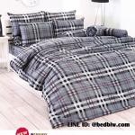 ชุดที่นอน-ผ้าปูที่นอนtoto ลายสก๊อต TT527