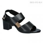 รองเท้าส้นเตี้ย SB33-012-BLK [สีดำ]