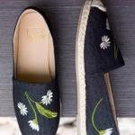 รองเท้าส้นแบน 618833-BLK [สีดำ]