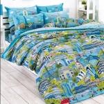 toto ลายใหม่ ชุดที่นอน ผ้าปูที่นอน toto ลายธรรมชาติ TT528
