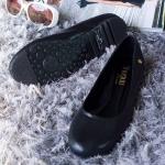 รองเท้าส้นแบน C12261-BLK [สีดำ]
