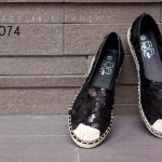 รองเท้าส้นแบน F59074-BLK [สีดำ]