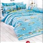 toto ชุดที่นอน ชุดผ้าปูที่นอน ลายกังหันลม TT529