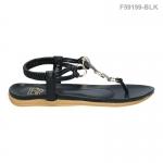 รองเท้าส้นแบน F59199-BLK [สีดำ]