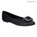 รองเท้าส้นแบน F59203-BLK [สีดำ]