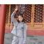 Pre-Order ชุดเซ็ทคู่รัก เสื้อ+กางเกงวอร์ม พิมพ์ลายสไตล์โบราณที่ฮู้ด thumbnail 10