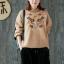 เสื้อแขนยาวกันหนาวแฟชั่นเกาหลี thumbnail 1