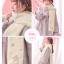 Pre-Order ผ้าพันคอขนนุ่มนิ่มผืนยาว ปักลายซากุระห้อยเชื่อกพู่ thumbnail 8