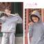 Pre-Order ชุดเซ็ทคู่รัก เสื้อ+กางเกงวอร์ม พิมพ์ลายสไตล์โบราณที่ฮู้ด thumbnail 11