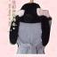 Pre-Order ผ้าพันคอขนนุ่มนิ่ม หูและหางกระต่าย thumbnail 17