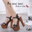รองเท้าส้นสูง สไตล์เกาหลีงานนำเข้า(สีดำ) thumbnail 1