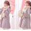Pre-Order ผ้าพันคอขนนุ่มนิ่มผืนยาว ปักลายซากุระห้อยเชื่อกพู่ thumbnail 13