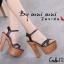 รองเท้าส้นสูง สไตล์เกาหลีงานนำเข้า(สีดำ) thumbnail 2