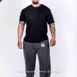 กางเกง JOGGER พรีเมี่ยม ผ้าวอร์ม รหัส WT610 h72 สีเทาเข้ม