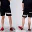 กางเกงขาสั้น พรีเมี่ยม ผ้า COTTON รหัส SST 215 Brown SN สีดำ แถบน้ำตาลงู thumbnail 4