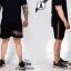 กางเกงขาสั้น พรีเมี่ยม ผ้า COTTON รหัส SST 215 TAX ฺGC สีดำ แถบแท็กเขียวแดง thumbnail 6