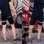 กางเกงขาสั้น พรีเมี่ยม ผ้า COTTON รหัส SST 215 B SN สีดำ แถบดำงู thumbnail 10