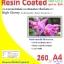 กระดาษอิ้งค์เจ็ทพิมพ์ภาพกันน้ำชนิด เคลือบเรซิ่นพิเศษ Resin-Coated inkjet paper ( Water Resistance) thumbnail 2