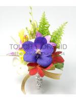 ช่อดอกไม้ติดเสื้อ รหัส 6011