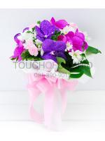 ช่อดอกไม้ Vanda Paradise รหัส 1048