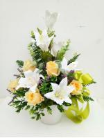 แจกันดอกไม้ประดิษฐ์ รหัส 3075