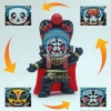 ตุ๊กตาจีน เปลี่ยนหน้ากากได้ (มี 4 หน้า) - สีดำ