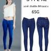 กางเกงยีนส์ขาเดฟเอวต่ำ ผ้ายีนส์ยืด สีฟ้าอมม่วง ผ้ายีนส์ฟอกนิ่มใส่สบาย มี SIZE S,M,L,XL