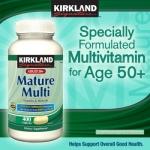 *หมดค่ะ*Kirkland Mature Adult50+ Multi Compare to Centrum Silver วิตามินรวมสำหรับผู้มีอายุ 50 ปีขึ้นไป 400 เม็ดค่ะ