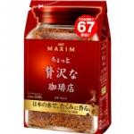 กาแฟ MAXIM Mocha blend Aroma select 135 g.รสชาตินุ่มหอมกลมกล่อม ขายดีมากๆในญี่ปุ่น คอกาแฟไม่ควรพลาดค่ะ