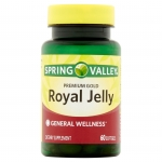 SPRING VALLEY Royal Jelly 500 mg. Premium Gold 60 เม็ด นมผึ้งจากอเมริกาค่ะ