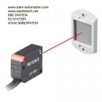 LV-S61 Keyence Sensor head ชนิดมีแผ่นสะท้อน (Retro-reflective), ลำแสงขนาดเล็ก (NEW)