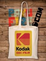 กระเป๋าผ้าดิบ ย้อนยุค Kodak