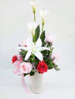 แจกันดอกไม้ประดิษฐ์ รหัส 3086