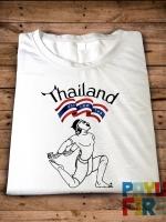 เสื้อยืด Thailand มวยไทย